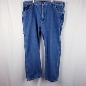 Dickies Relaxed Fit Carpenter Blue Jeans 42x30